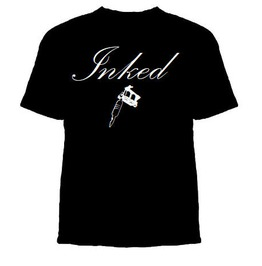 Inked Tshirt, Ink Addict, Addicted To Ink Shirt, Tattoo Tshirt, Tattooed