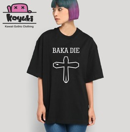 Baka Die Pastel Goth Black T Shirt Japan