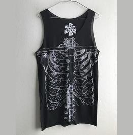 Skull Gothic Pop Rock Vest Tank Top