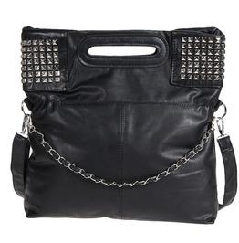 Punk Rivets Pu Leather Women Shoulder Bag Messenger Bag Tote