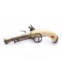 Steampunk Coffee Flintlock Men's Pistol & Holster
