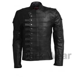 Rebelsmarket gothic punk military fashion leather jacket steampunk movie costume jacket jackets 5