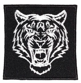 Tiger Variation 3 Embroidered Patch, 2,8 X 2,8 Inch