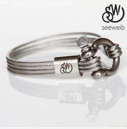 Marine Stainless Steel Bracelet, Industrial Bracelet, Unisex Bracelet