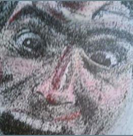 Evil Dead's Ash! 5x7 Pointillism Print