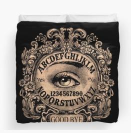 Ouija Mystic Eye Comforter