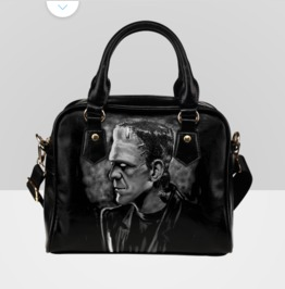Frankenstein's Monster Shoulder Handbag