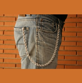 Handmade Rope Wallet Chain