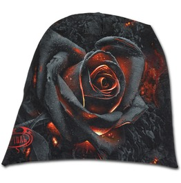 Burnt Rose Light Cotton Beanies Black