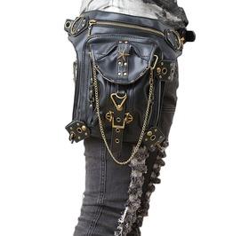 Steampunk Motorcycle Cross Body Shoulder Waist Bag