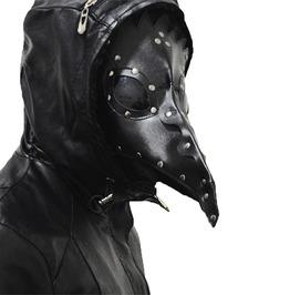 Men Women Plague Doctor Bird Mask Long Nose Halloween Cosplay Accessories