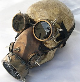 Steampunk Haze Gothic Goggles Gas Anti Fogging Masks