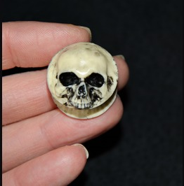 Ear Plugs Skulls Gothic Punk Rock Exclusive Alternative Jewelry