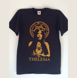 Scarlet Woman Leila Waddell Aleister Crowley Thelema T Shirt