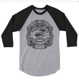 Ouija Mystic Eye 3/4 Sleeve Raglan Shirt