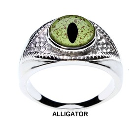 21 Unisex Eye Rings Choose From Animal And Fantasy Handcrafted Glass Eyes