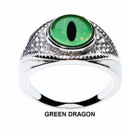 Animal Or Fantasy Eye Ring For Men Or Women | Select From 20 Glass Eyes