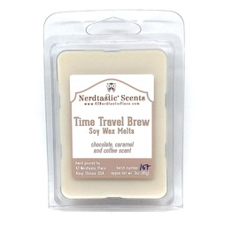 Time Travel Brew 3oz Soy Wax Tarts, Chocolate Caramel Coffee