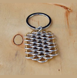 Handmade Dragon Scale Keychain
