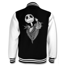 Jack Skellington Varsity Jacket