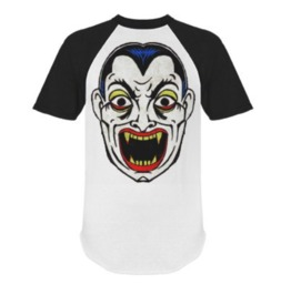Dracula Short Sleeve Raglan Shirt