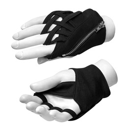 Authentic Punk Rave Wrapped Around The Finger Gloves