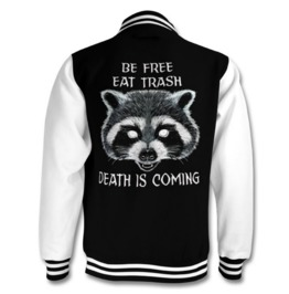 Cult Of The Trash Panda Varsity Jacket