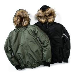 Bomber Parka Jacket