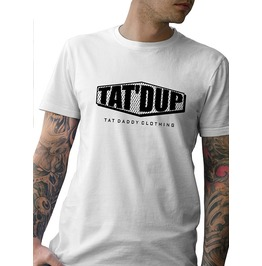 "Men's Soft Ringspun Cotton ""Tat'd Up"" Tee"