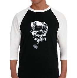 "Adult ""Abandon Ship"" Raglan Tee"