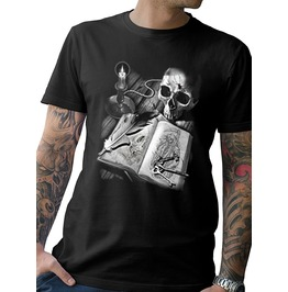 "Men's Soft Ringspun Cotton ""Journal Of Death"" Tee"
