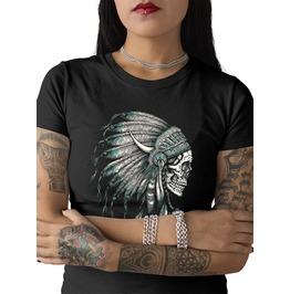 "Ladies ""Indian Skull"" Tee"