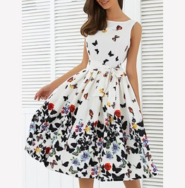 Boho Long Evening Party Cocktail Prom Floral Summer Beach Maxi Dress