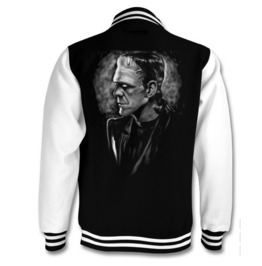 Frankenstein's Monster Varsity Jacket