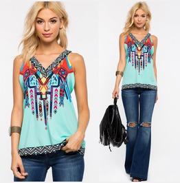 Women Summer Vest Top Sleeveless Shirt Blouse Casual Tank Tops T Shirt