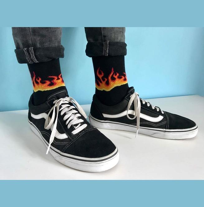 rebelsmarket_black_socks_with_hot_fire_flames_socks_3.jpg