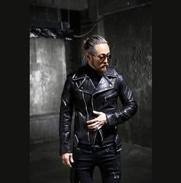 Zipper Sheep Leather Jacket