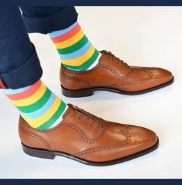 Mens Fashion Wingtip Brogue Formal Shoes Men Tan Color Dress Shoes Men Shoe