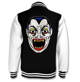 Vampire Mask Varsity Jacket