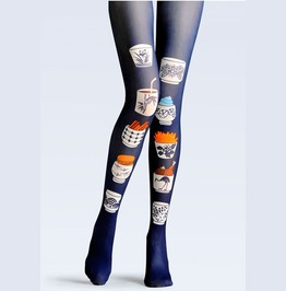 Women Colorful Printed Street Wear Tight Leggings P4
