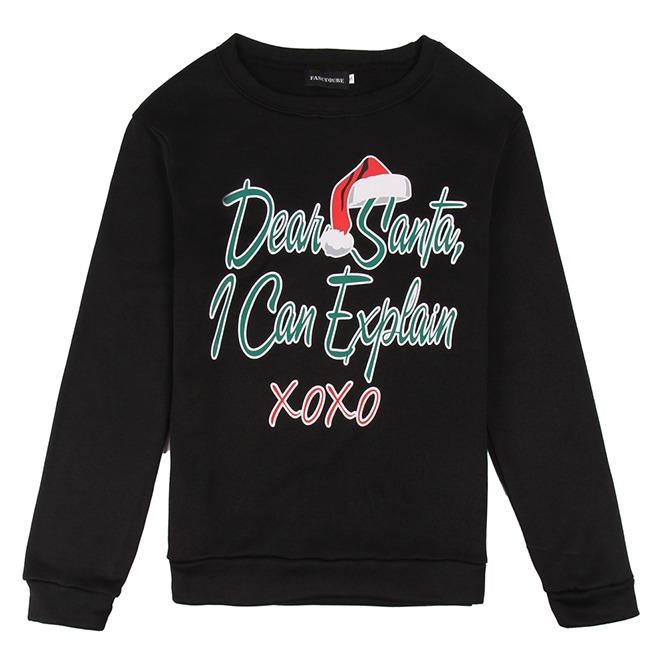 Dear Santa I Can Explain Xoxo Print Ugly Christmas Men Rebelsmarket