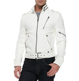 Men Fashion Leather Jacket, Mens Genuine Leather Jacket, Men Jackets