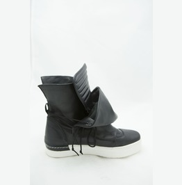 Black Genuine Leather Casual Boots/Woman Genuine Leather Casual Boots