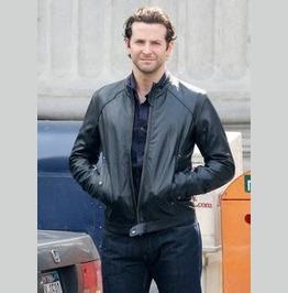 The Dark Fields Eddie Spinola Bradley Cooper Jacket, Men Leather Jackets