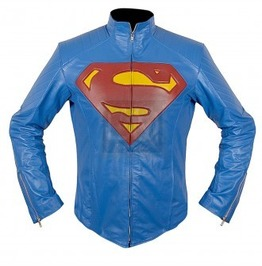 Superman Leather Jacket Christopher Revees, Superman, Men Leather Jackets