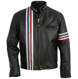 Easy Rider Motorcycle Leather Jacket, Jacket, Men Biker Leather Jacket
