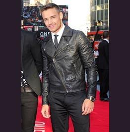 Liam Payne Leather Jacket Celebrities Leather Jackets Men Biker Jackets