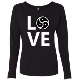 Bdsm Triskele Love Women Sweatshirt