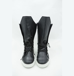 Black Genuine Leather Sneakers/Black Genuine Leather Casual Boots