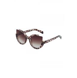 Voodoo Vixen Extreme Cat Eye Sunglasses Leopard